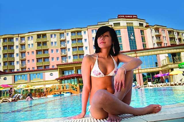 Zalakaros Heilbad am Kleinen Balaton Hotel Karos Spa