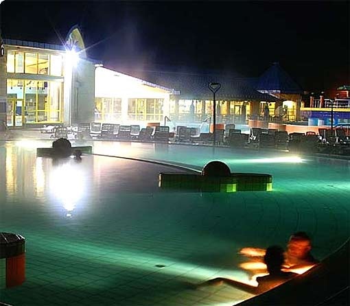 Bad Sarvar Therme in Westungarn