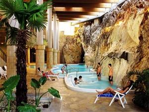 Miskolc Tapolca mit seinem bekannten Höhlenbad