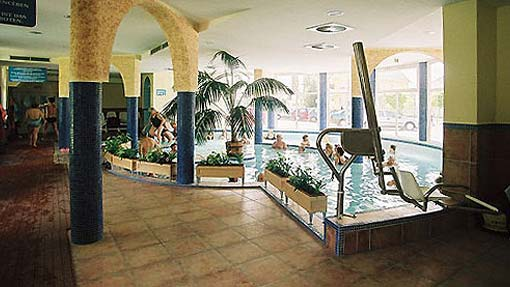 Therme in Komarom Heilbad in Ungarn