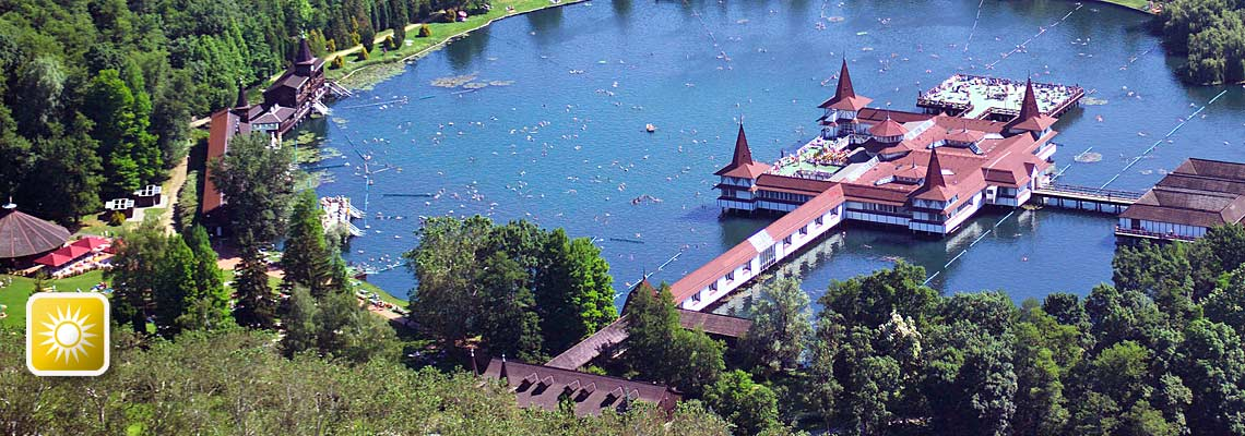 Thermalsee Bad heviz Ungarn