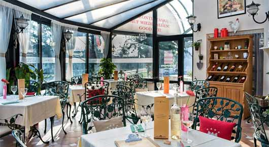 Restaurant im Hotel Piroska in Bük